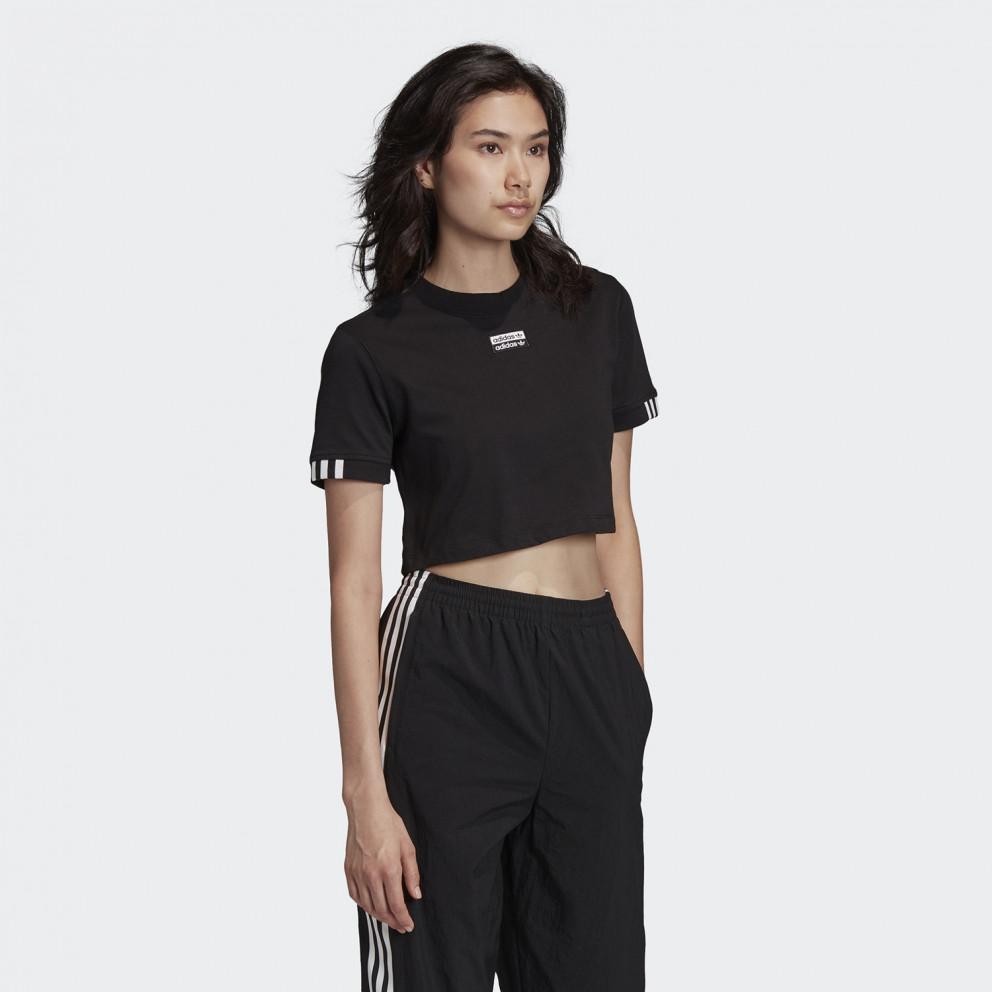 adidas Originals Cropped Γυναικεία Μπλούζα