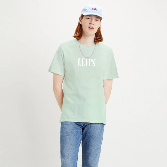 Levis SS Relaxed Fit Tee Ssnl Serif