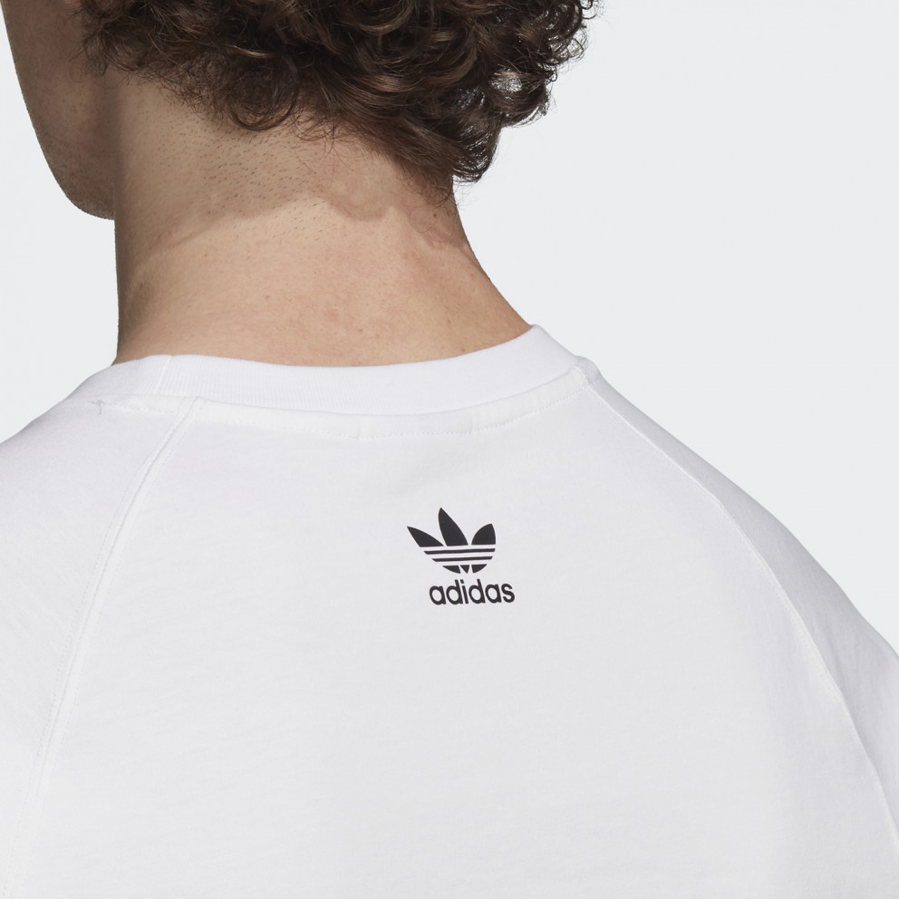 adidas Performance Big Trefoil Colorblock Ανδρικό Μπλουζάκι
