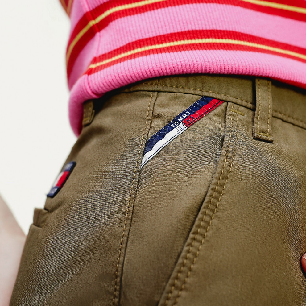 Tommy Jeans Essential Chino Γυναικείο Σόρτς