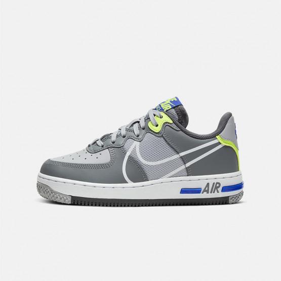 Nike Air Force 1 React Boys Shoes