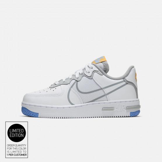 Nike Air Force 1 React Su (Gs) Kids' Shoes