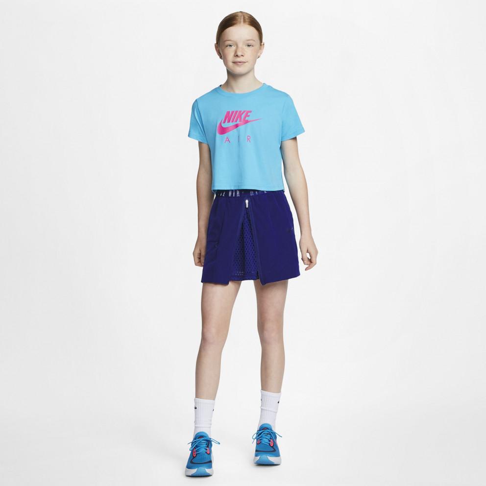 Nike Air Παιδικό Crop Top Μπλουζάκι
