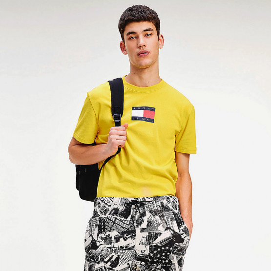 Tommy Jeans Small Flag Men's Tee