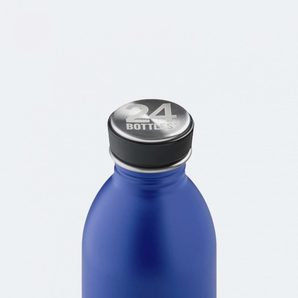 24Bottles Urban Gold Blue Ανοξείδωτο Μπουκάλι 500ml