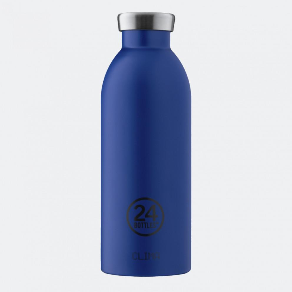 24Bottles Clima Gold Blue Ανοξείδωτο Μπουκάλι 500 ml