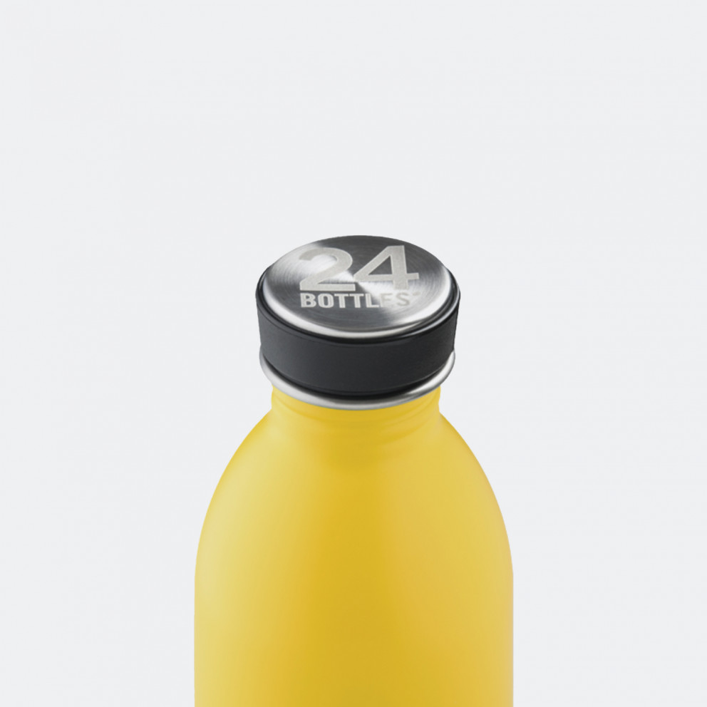 24Bottles Urban Yellow Ανοξείδωτο Μπουκάλι 500ml