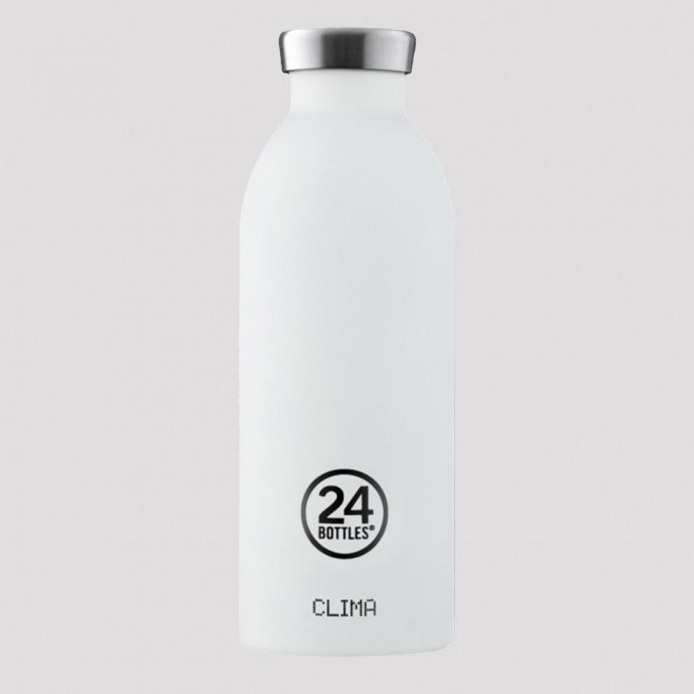 24Bottles Clima Ice White Ανοξείδωτο Μπουκάλι 850 ml
