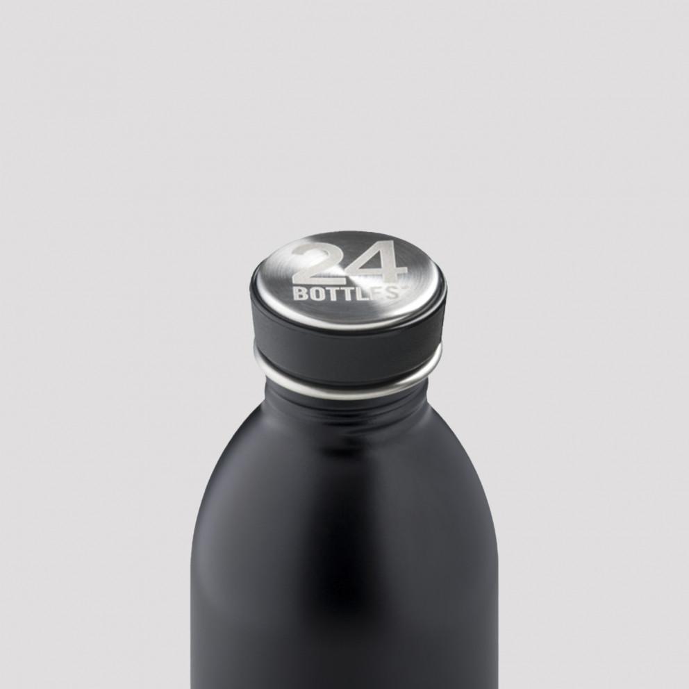 24Bottles Urban Black Ανοξείδωτο Μπουκάλι 500ml