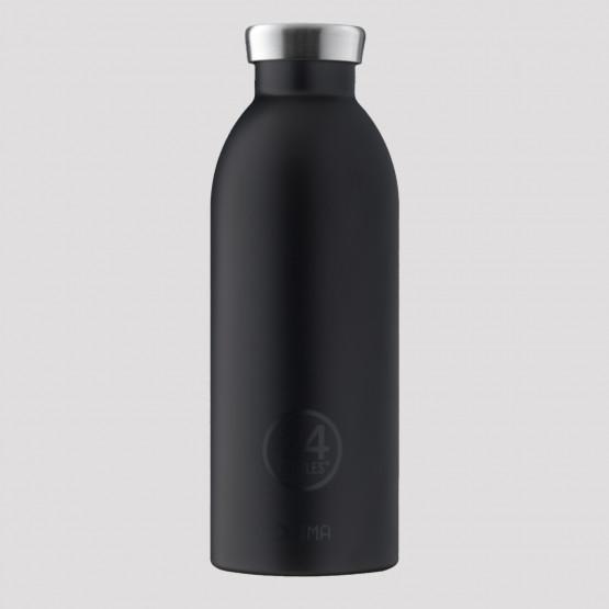 24Bottles Clima Tuxedo Black Ανοξείδωτο Μπουκάλι 500 ml