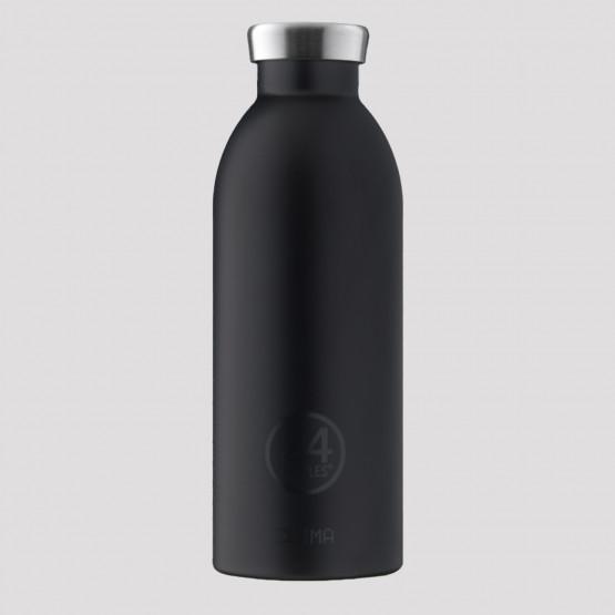 24Bottles Clima Tuxedo Black Steel Bottle 850 ml