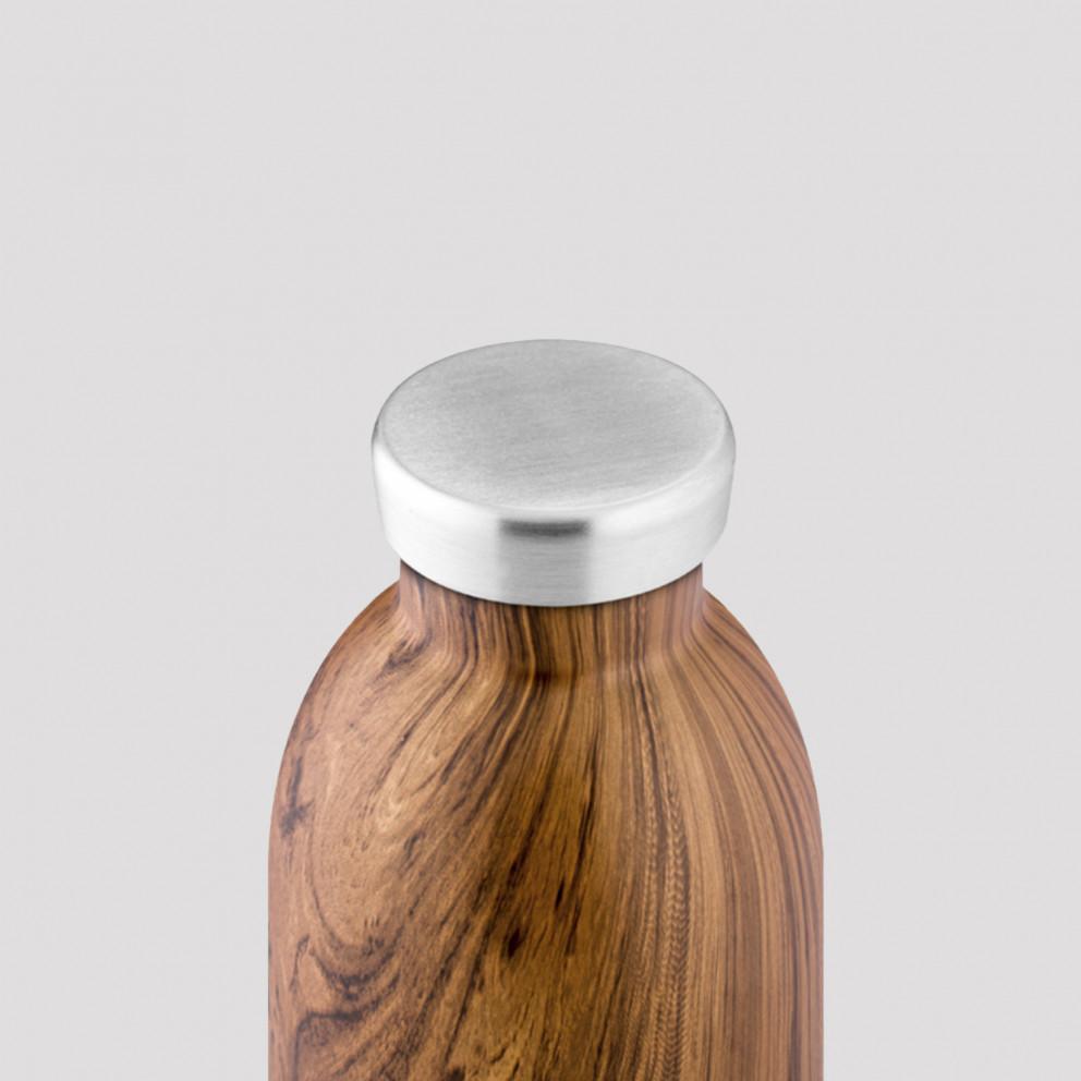 24Bottles Clima Bottle Sequoia Wood Ανοξείδωτο Μπουκάλι 850 ml