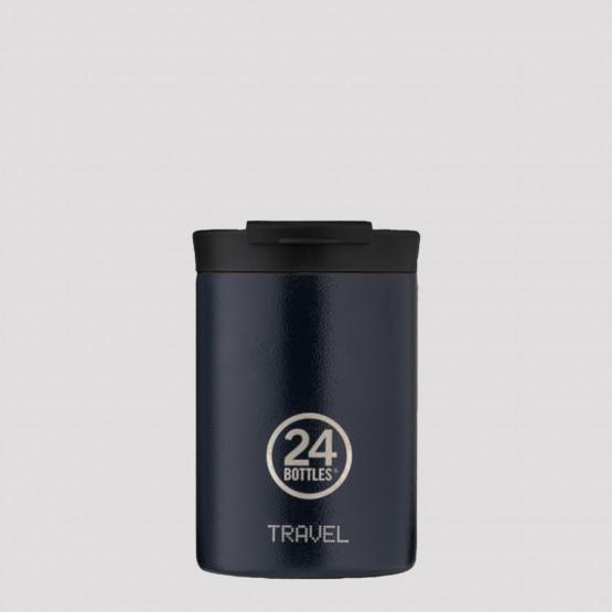 24Bottles Travel Tumbler Deep Blue Ανοξείδωτο Ποτήρι Θερμός 350 ml
