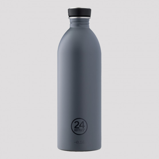 24Bottles Urban Formal Grey Steel Bottle 1L