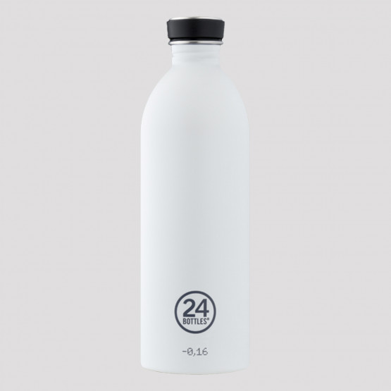 24Bottles Urban Ice White Steel Bottle 1L