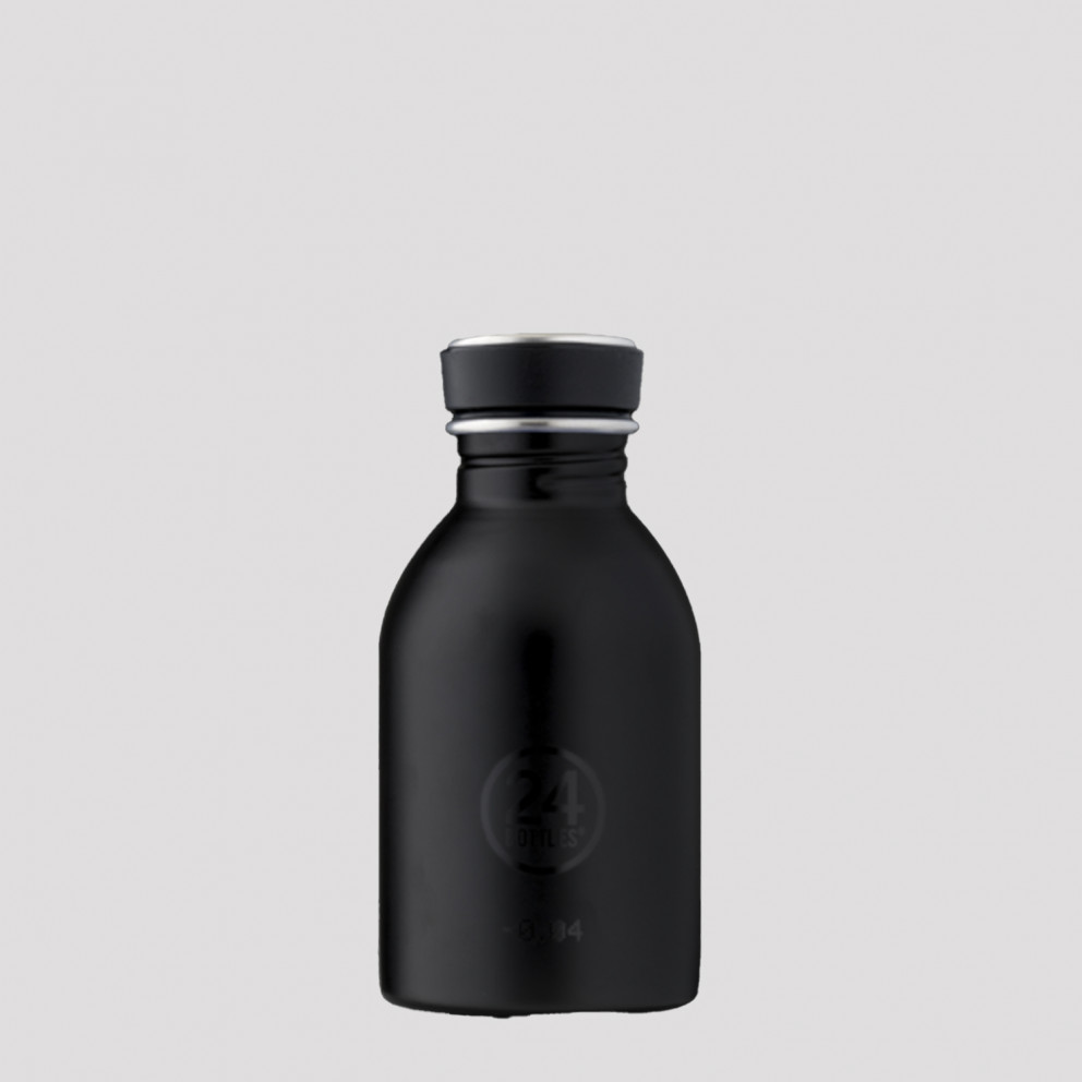 24Bottles Urban Tuxedo Black Ανοξείδωτο Μπουκάλι 250ml