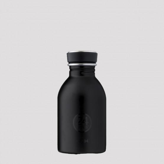 24Bottles Urban Steel Bottle Tuxedo Black 250ml