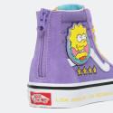 Vans x The Simpsons Uy Sk8-Hi Zip Kids' Shoes