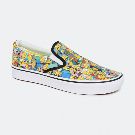 Vans x The Simpsons Ua Comfycush Slip-on Unisex Shoes