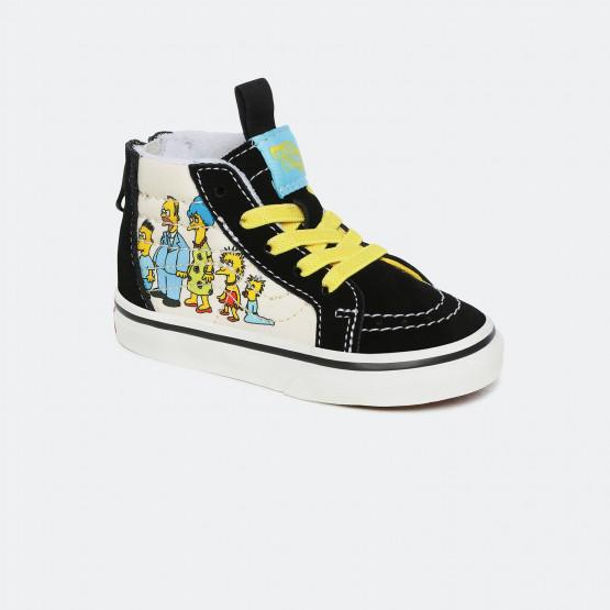Vans x The Simpsons Ua Sk8-Hi Βρεφικά Παπούτσια