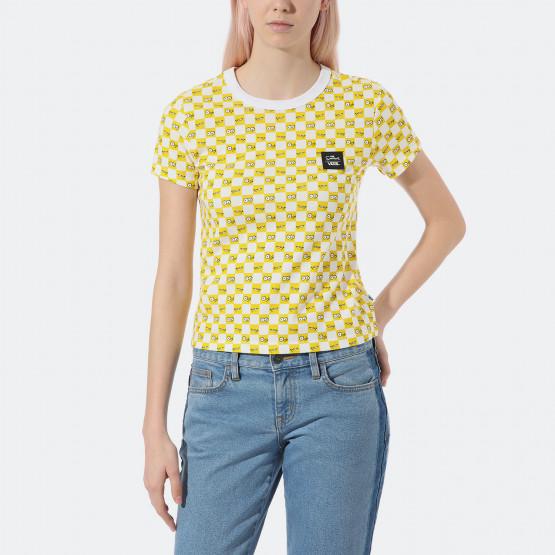 Vans x The Simpsons Check Eyes Γυναικεία Μπλούζα