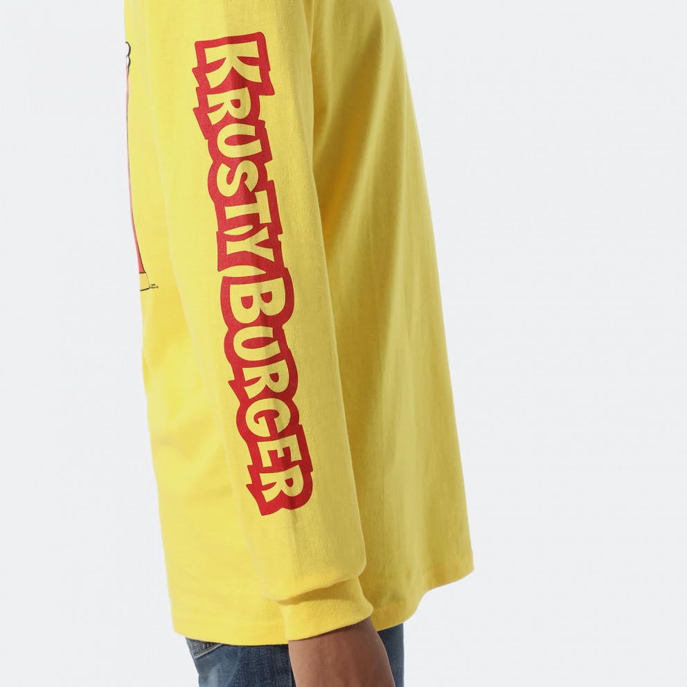 Vans x The Simpsons Krusty Men's Longsleeve T-Shirt