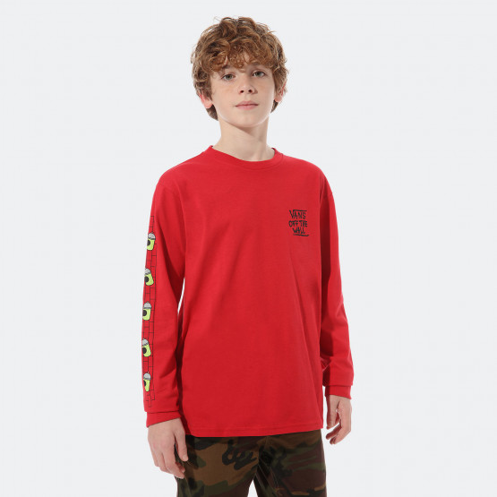 Vans x The Simpsons El Barto Kids' Longsleeve T-Shirt