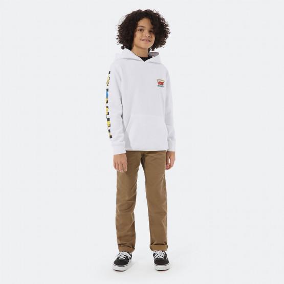 Vans x The Simpsons Family Παιδική Μπλούζα με Κουκούλα