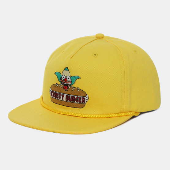 Vans x The Simpsons Krusty Burger Men's Hat