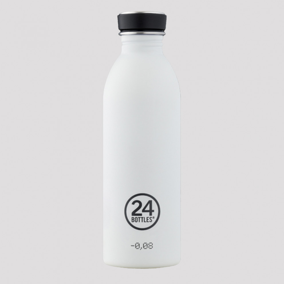 24Bottles Urban Steel Bottle White 500ml