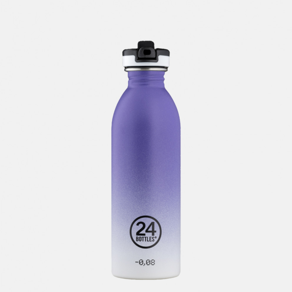 24Bottles Urban Purple Rhythm Steel Bottle 500 ml