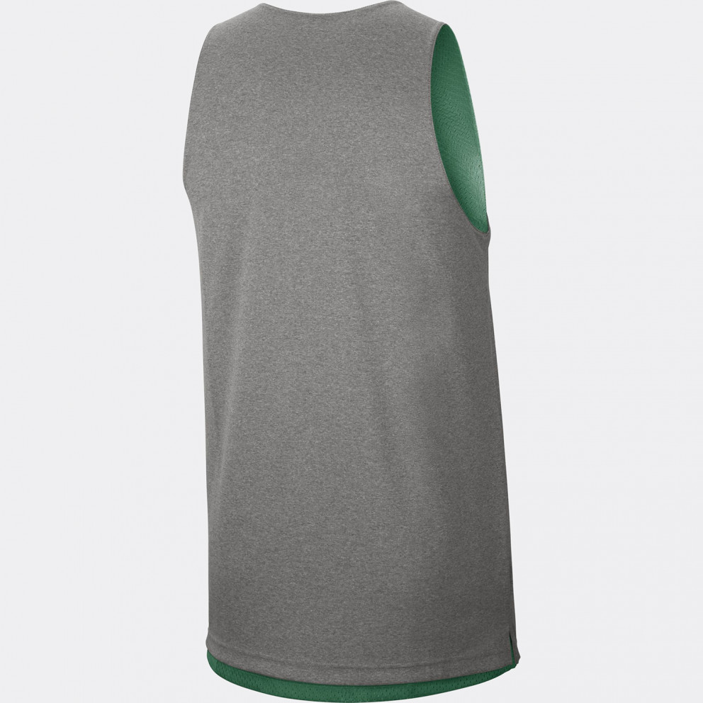 Nike NBA Boston Celtics Standard Issue Ανδρικό Reversible Αμάνικο
