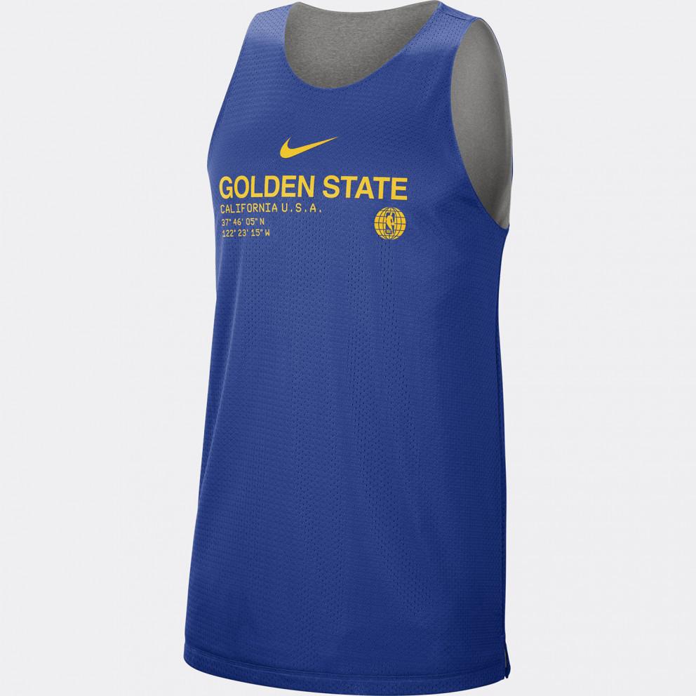 Nike NBA Golden State Warriors Standard Reversible Ανδρικό Αμάνικο