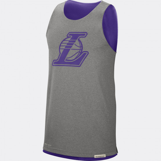 Los Angeles Laker Standard Issue Ανδρικό Nike NBA Reversible Αμάνικο