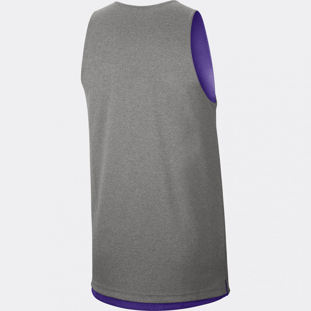Los Angeles Lakers Standard Issue Ανδρικό Nike NBA Reversible Αμάνικο