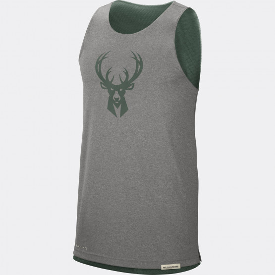 Nike NBA Milwaukee Bucks Standard Issue Courtside Ανδρικό Αμάνικο