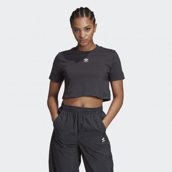 adidas Originals Trefoil Essentials Cropped Women's Tee