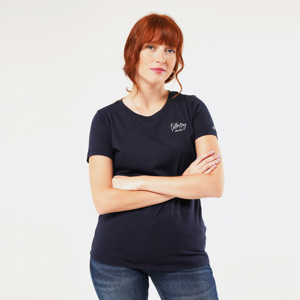 Tommy Jeans Embroidery Logo Women's T-Shirt