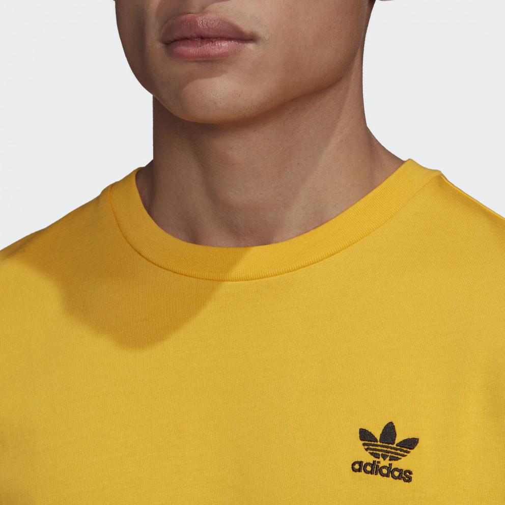 adidas Originals Back + Front Print Trefoil Long Sleeve Men's Tee
