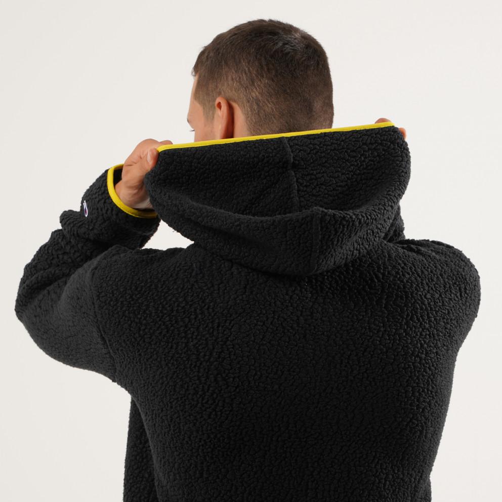 Champion Hooded Half Zip Top