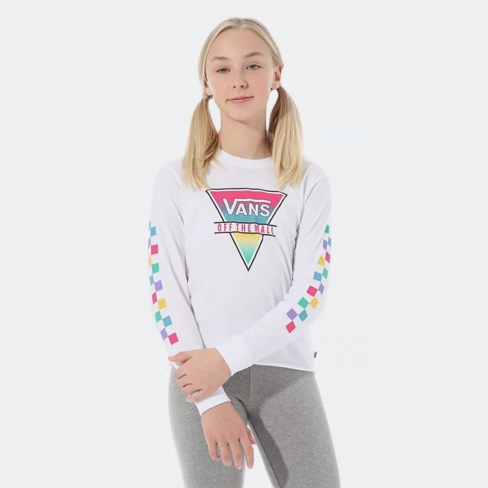 Vans Rainbow Triad  Kids' Long-Sleeve T-shirt