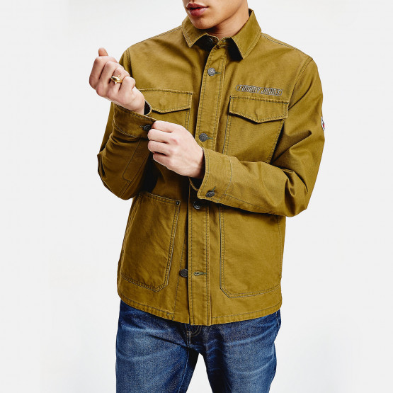 Tommy Jeans Cotton Cargo Jacket