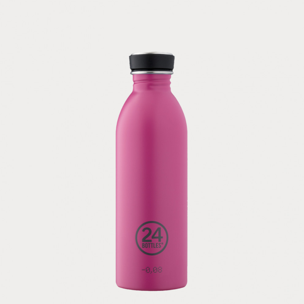 24Bottles Urban Pink Ανοξείδωτο Μπουκάλι 500ml