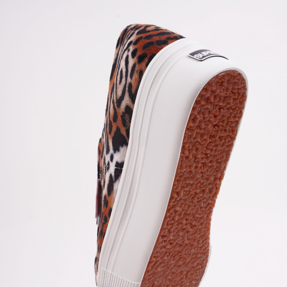 Superga 2790 Flatform Velvet Sneakers