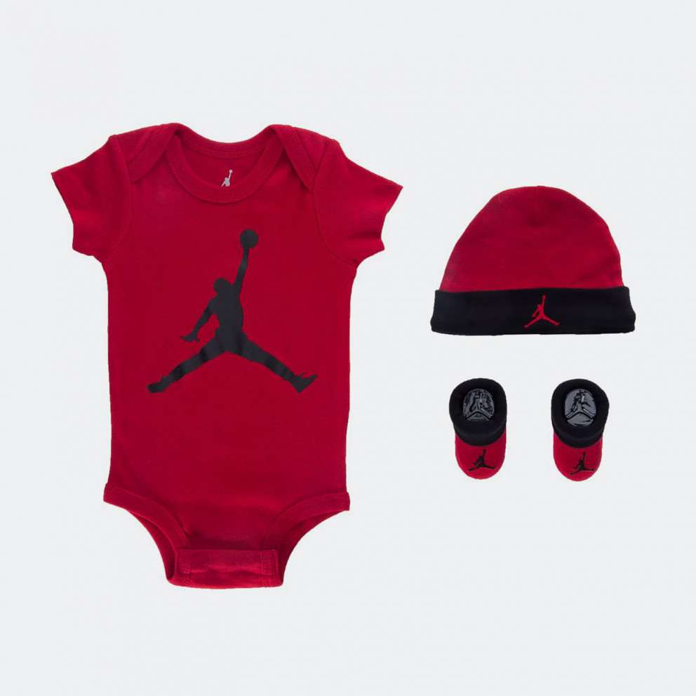 Jordan Jumpman Hat/Bodysuit/Bootie Set 3Pc