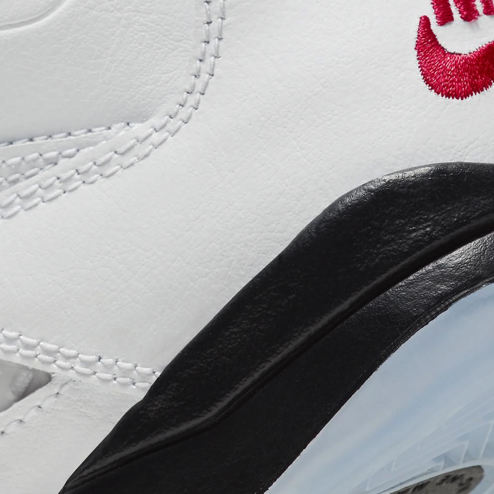 "Air Jordan Retro 5 ""fire Red"" Kids' Shoes"