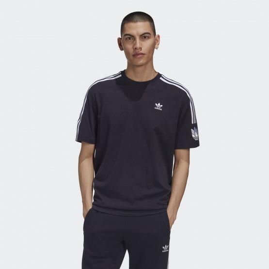 adidas Originals Adicolor 3d Trefoil 3-Stripes Ανδρική Μπλούζα