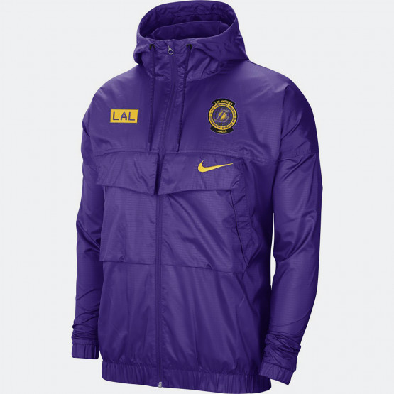 Nike NBA Lakers Courtside Men's Lightweight Jacket