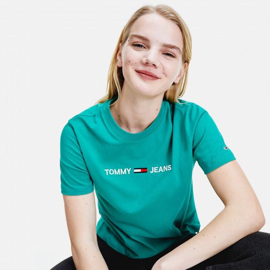 Tommy Jeans Modern Linear Logo Γυναικεία Μπλούζα