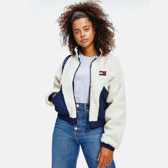 Tommy Jeans Reversible Sherpa Jacket